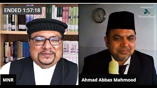 Introductory Live Session 16 With Respected Brother Ahmad Abbas Mahmood 18 Oct 2020 Sun.