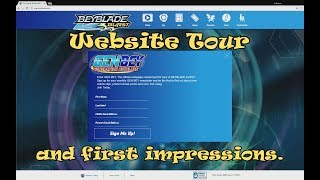 Make Way for GEN BEY!! Generation Beyblade Website Tour & First Impressions