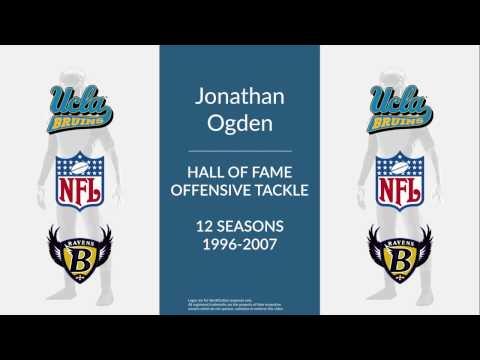 Jonathan Ogden: Hall of Fame Football Offensive Tackle