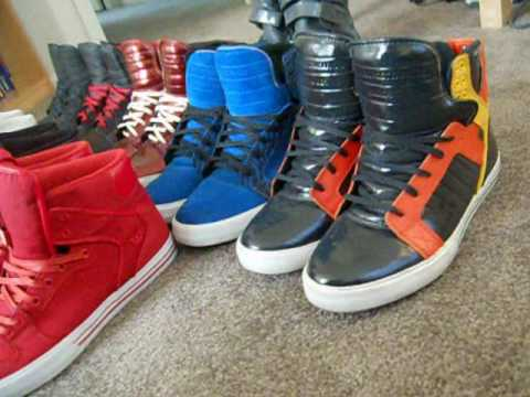 619706d6b7c6 SUPRA FOOTWEAR COLLECTION PART 1 - YouTube