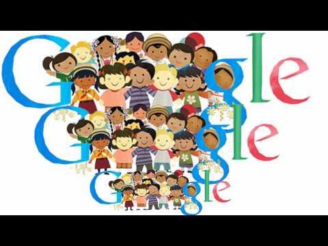 Всемирный день ребенка Universal Children's Day - Google Doodle