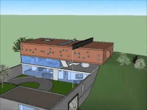 Maison bordeaux sketchup por jonatha lucky youtube for Maison de l enfance bordeaux