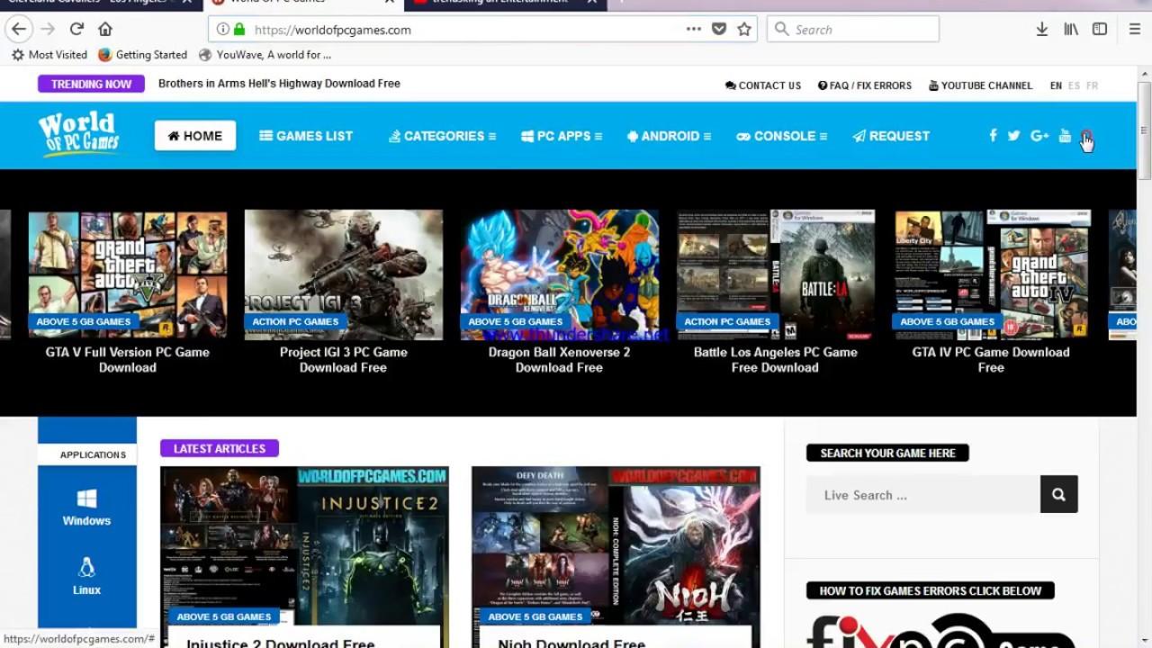 battle los angeles game torrent