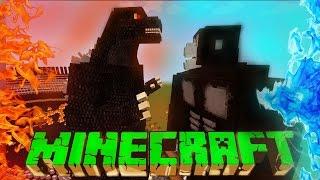 King Kong VS Godzilla - Minecraft