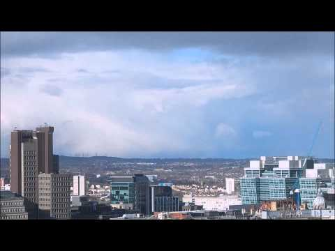 Snow Showers Time-lapse