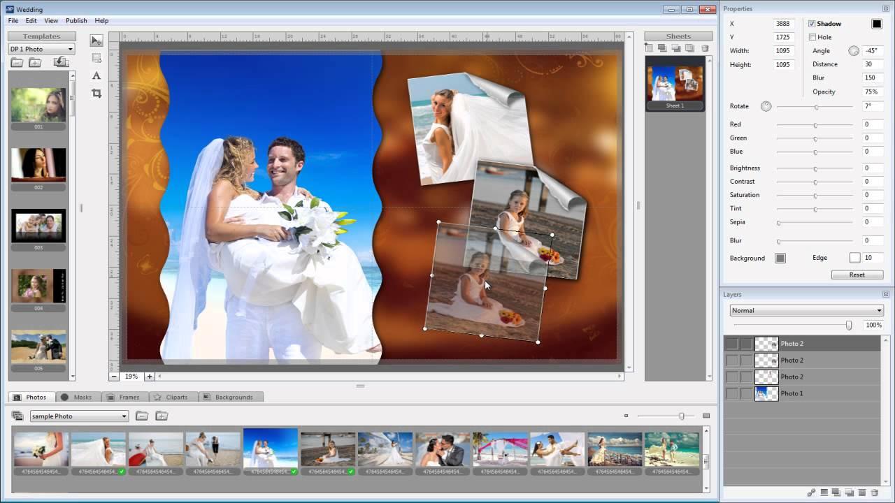 Album express 5 pro create template album design ds for Album ds templates