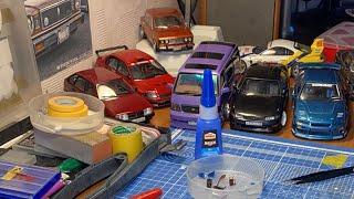 Сборка JDM авто (Subaru,  Toyota)