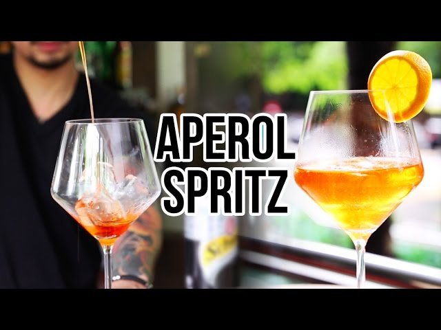 How To Make Aperol Spritz Youtube