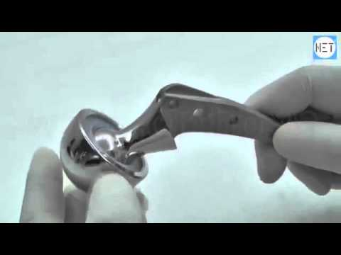 Bipolar Hip Prosthesis, Fenestrated Stem, Sterile, SS  Item Code  175 437 to 175 455