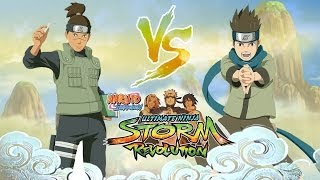 Naruto STORM Revolution™ Battle Iruka Umino Vs Konohamaru Sarutobi Gameplay 720p【HD】Anime Expo 2014!