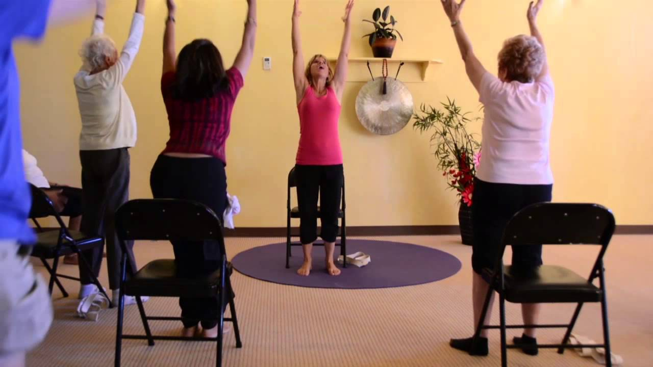 Chair yoga elderly - 3 Energizing Chair Yoga Classes To Keep Seniors Moving And Feeling Better Youtube