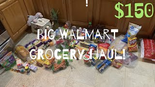 GROCERY HAUL | Walmart, Costco, & Grove
