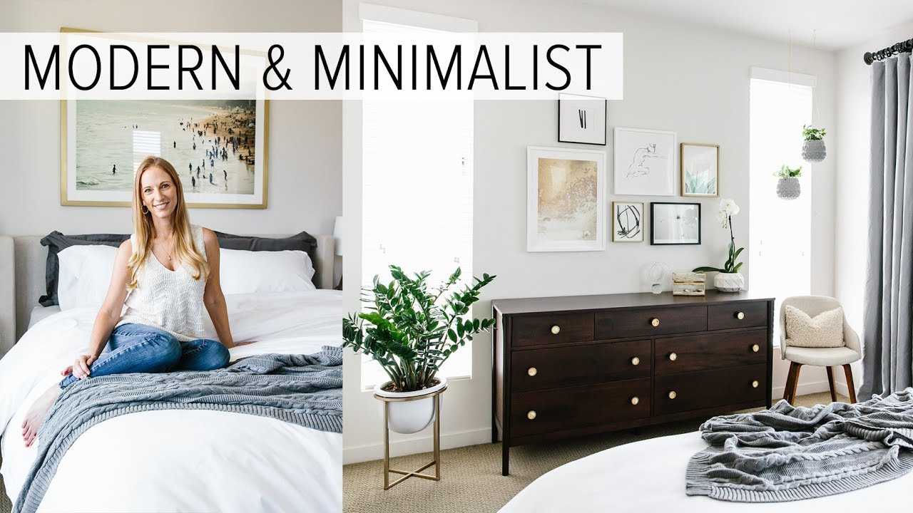 Design My Bedroom | Bedroom Tour My Modern Minimalist Room Tour