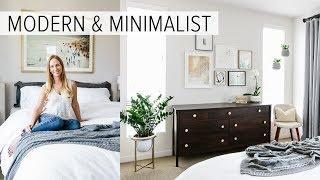 Bedroom Tour | My Modern & Minimalist Room Tour