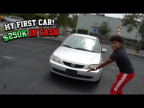 BOUGHT MY FIRST CAR IN CASH! AT 18 YEARS OLD *$250k Dollars*