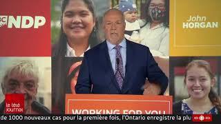 Lendemain d'élections en Colombie-Britannique