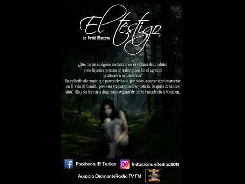 """""""EL TESTIGO""""   OBRA TEATRO DE DAVID MONTOYA - AUSPICIA RADIO TV FM DIAMANTE"""