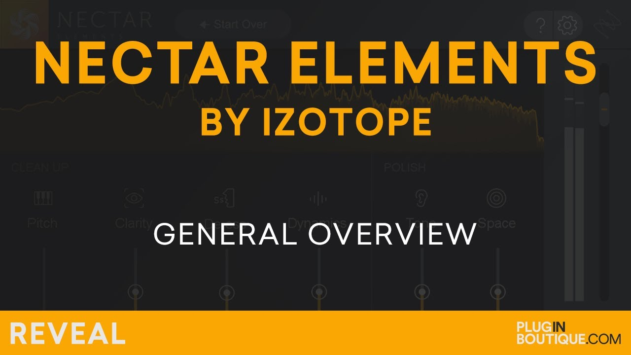 iZotope Nectar Elements plugin 64% off in Flash Sale