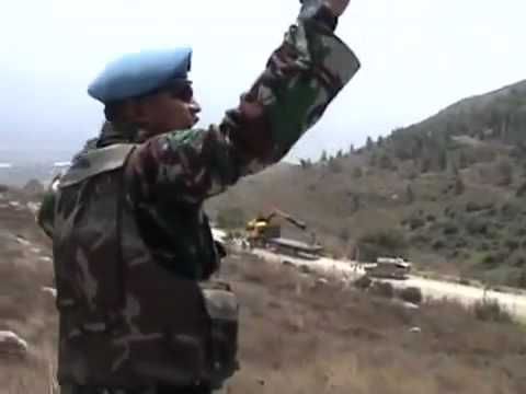 What 2 UNIFIL troops did before they were ordered to retreat