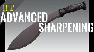 Sharpening A Kukri Machete | Cold Steel Machete