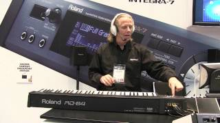 Roland RD-64 NAMM 2013 Booth Demo