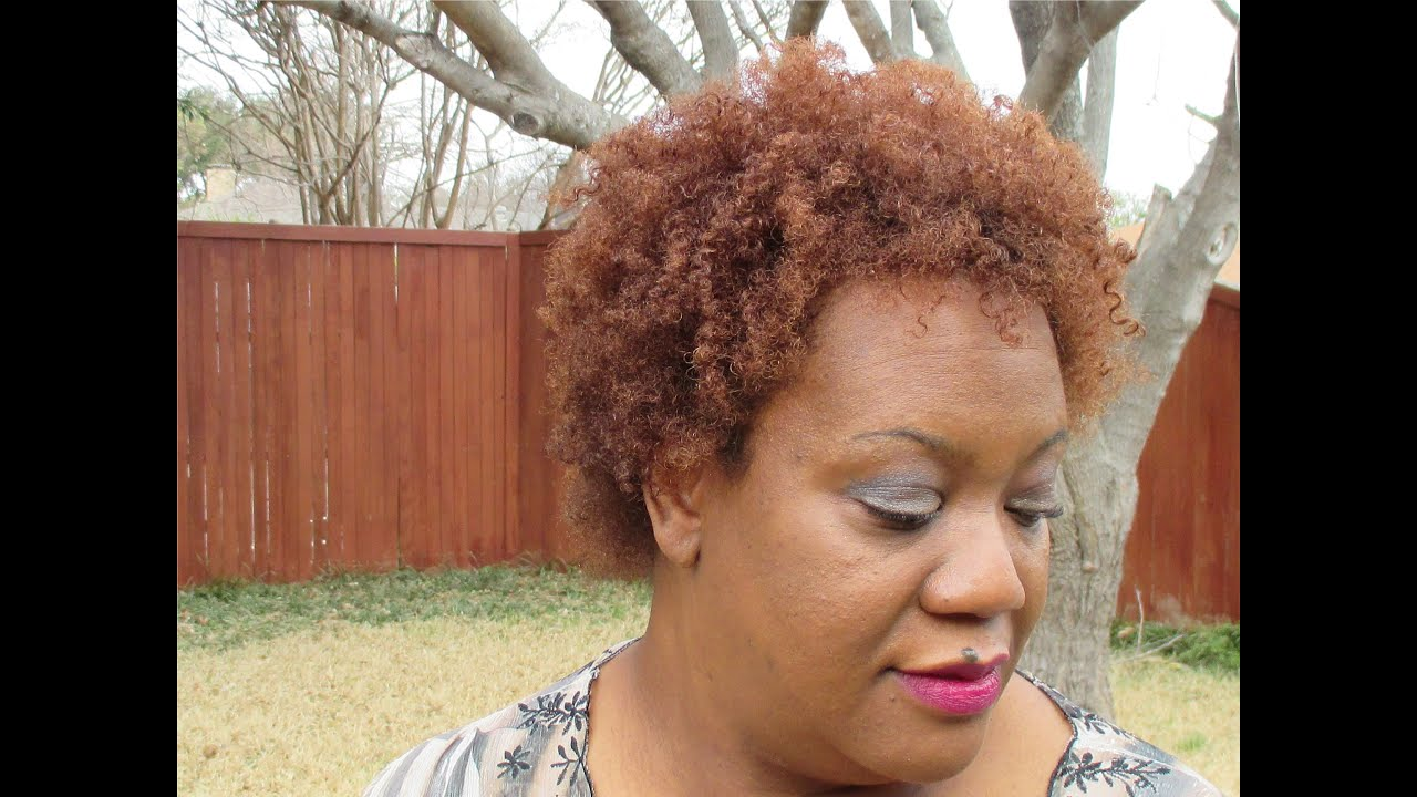 A Review Of Shea Moisture Hair Color System - YouTube