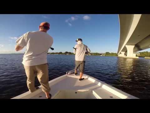 Daytime SNOOK Fishing Stuart, FL. Artificial Swimbait RAW Footage!