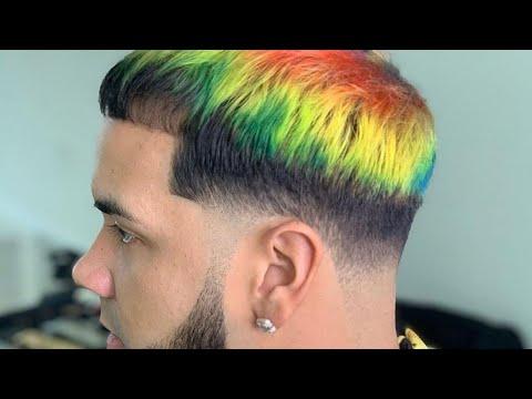 Corte de cabello hombre anuel aa
