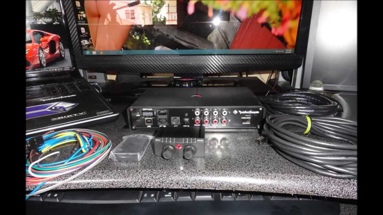 rockford fosgate 3sixty 3 8 channel interactive signal processor with 248 band parametric eq youtube [ 1280 x 720 Pixel ]