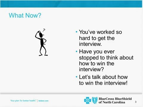 Interview Tips with Blue Cross Blue Shield