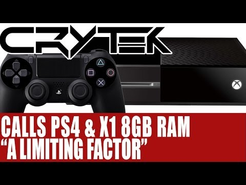 "playstation-4-&-xbox-one---crytek-calls-ps4-&-xbox-one-8gb-ram-""a-limiting-factor"""