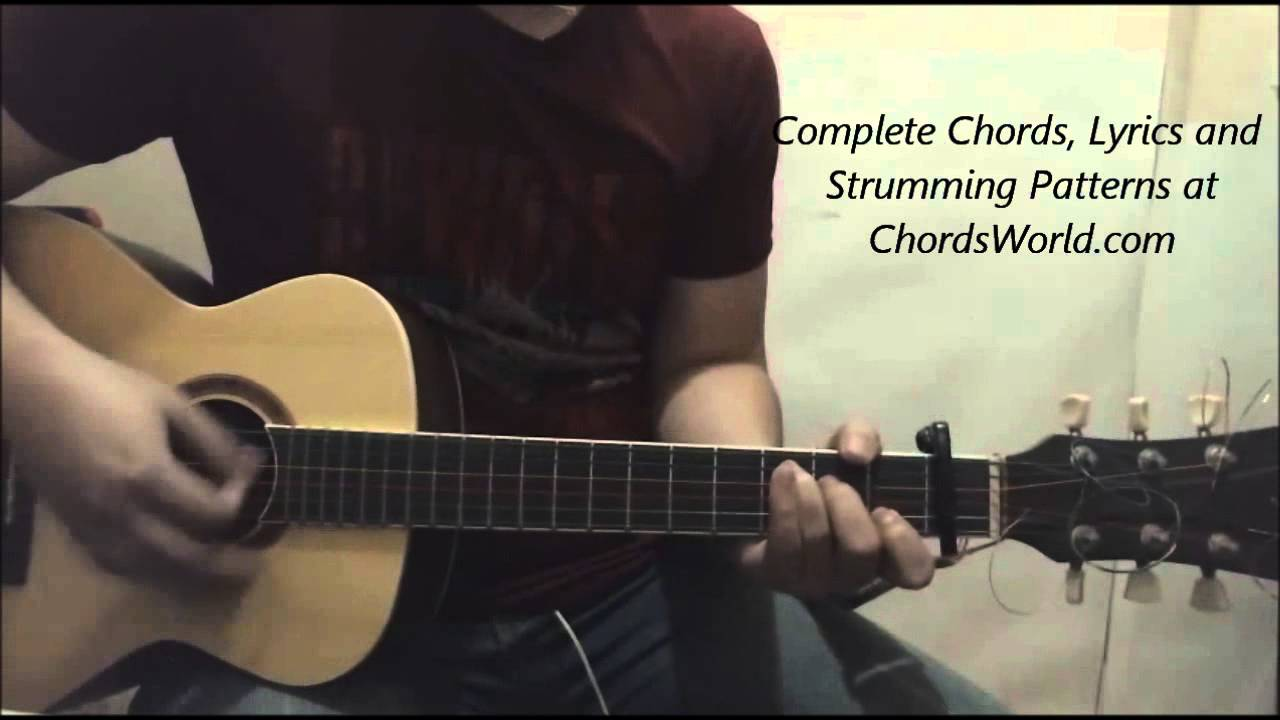 Justin Bieber All In It Chords Guitar Lesson Youtube
