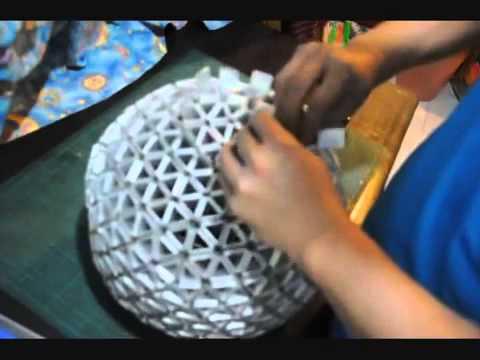 Cách làm đèn tam giác từ hộp sữa   Handmade Khéo tay Cộng Đồng DIY Việt Nam