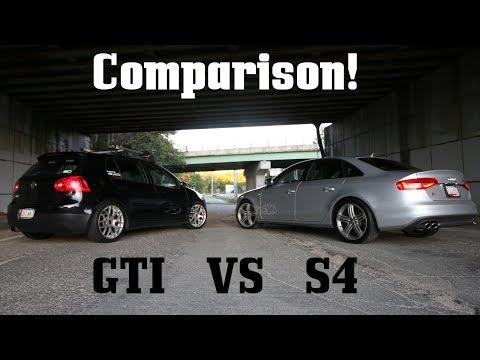 Audi B8.5 S4 vs MkV GTI: Owner