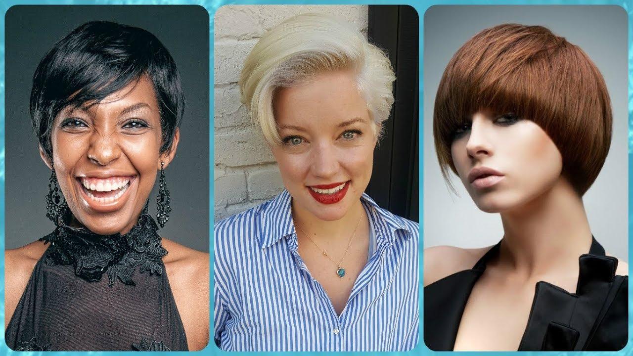 Die Fetzige 20 Ideen Zu Kurzhaarfrisuren Für Eckige Gesichter Damen
