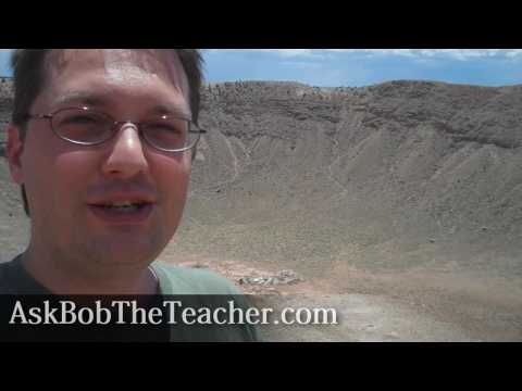 Business Tip From The Meteor Crater, AZ