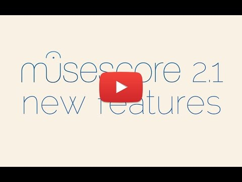 New features in MuseScore 2.1