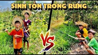 Anh Ba Phải | Bốc Thăm Sinh Tồn Trong Rừng Tràm Chỉ Với Cần Câu & Bật Lửa | Survival Challenge
