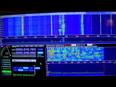 Radio Habana Cuba 5040 Khz Shortwave Afedri SDR
