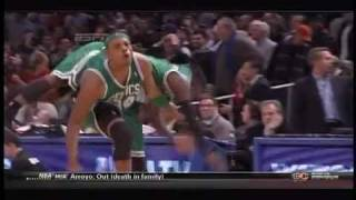 Nate Robinson Falls over Paul Pierce with FUNNY ANNOTATIONS!!! (12/15/2010)