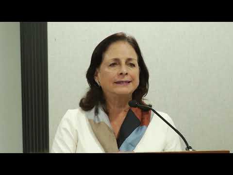 Intervención, Ministra de educación Monserrat Creamer en firma de Convenio con la UNIR