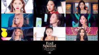 TWICE 'Feel Special' Teaser Mix (All 9 Members)