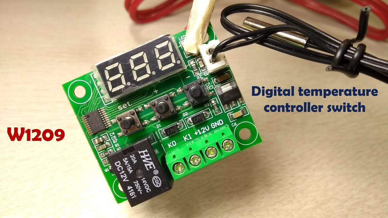 Circuits Electronic Temperature Control And Maintenance Circuit