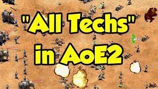 All Techs in AoE2