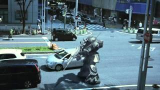 01 名古屋市 ボトムズ 信号待ち
