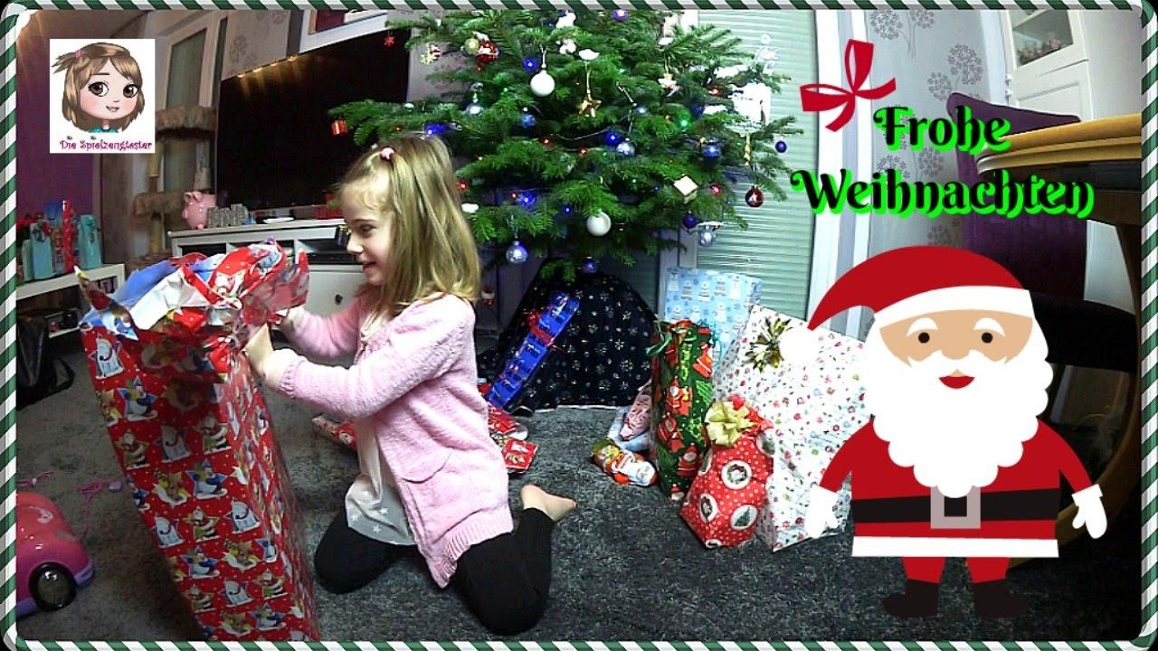 BESCHERUNG 🎁 Hannah packt Heiligabend ihre Geschenke aus 🎅 Weihnachten 2016