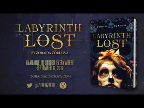 Labyrinth Lost Book Trailer