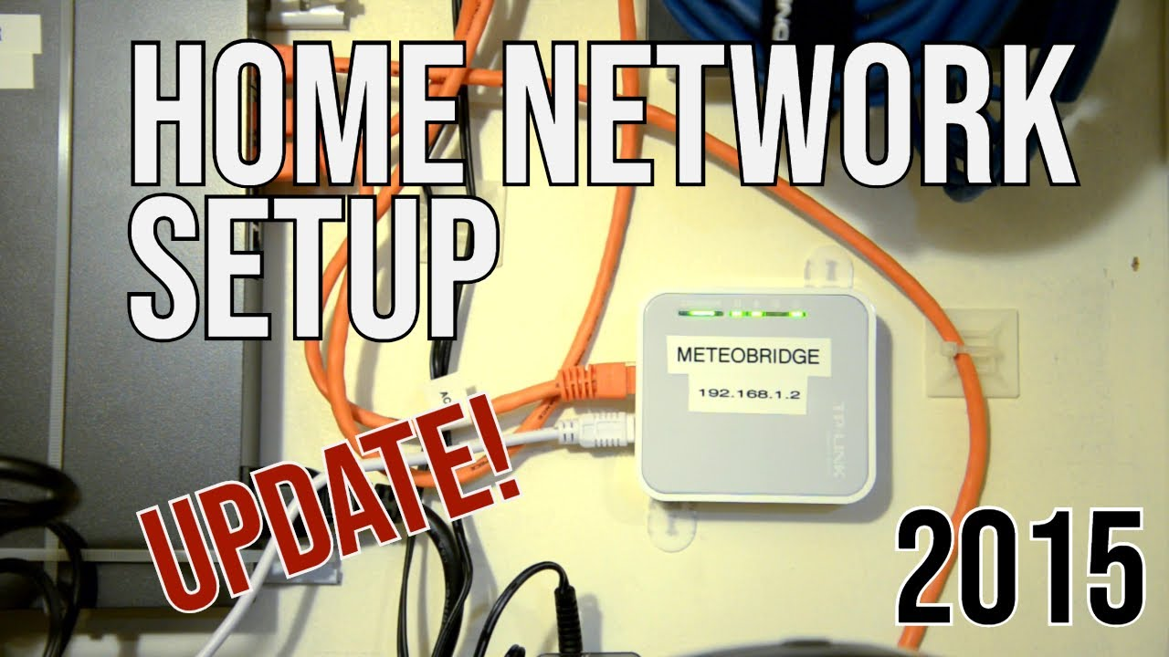 Home Network Setup Update 2015 Youtube