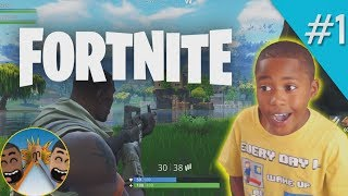 FORTNITE CRAZINESS!! // 2 Player Duo!! // Squiggly Glitch Father and Son Adventures