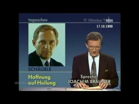 Wolfgang Schäuble - Attentat 1990